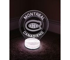 Beling 3D lampa, Montreal Canadiens, 7 farebná S494DDS